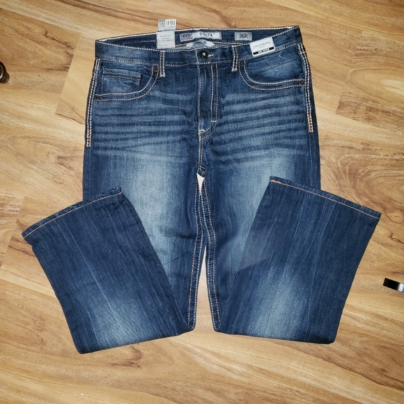BKE Other - Nwt BKE Tyler BootLeg Relaxed Fit, Mid Rise sz 36R
